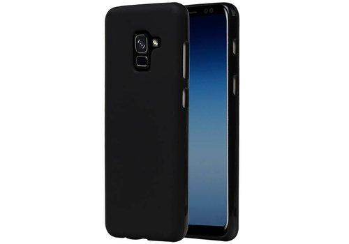 TPU Hoesje voor Galaxy A8 / A5 (2018) Zwart