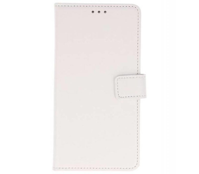 Bookstyle Wallet Cases Hoes voor Huawei P20 Lite Wit