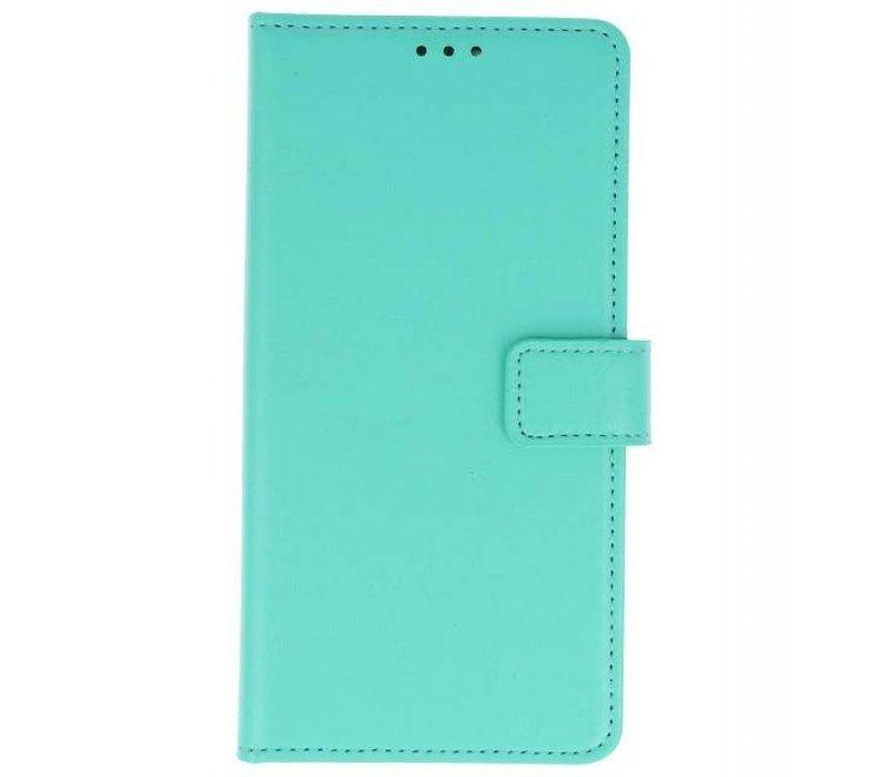 Bookstyle Wallet Cases Hoes voor Huawei P20 Groen