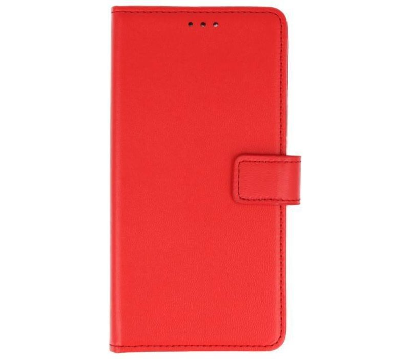 Bookstyle Wallet Cases Hoes voor Huawei P Smart Rood