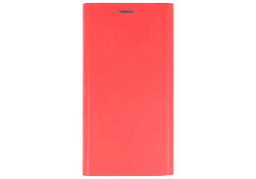 Flipbook Slim Folio Case voor iPhone X Rood