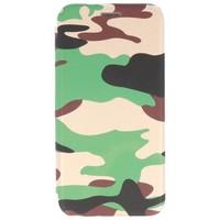 Army Slim Folio Case voor iPhone X Groen