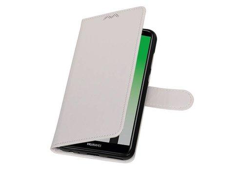 Huawei Mate 10 Lite Portemonnee hoesje booktype case Wit
