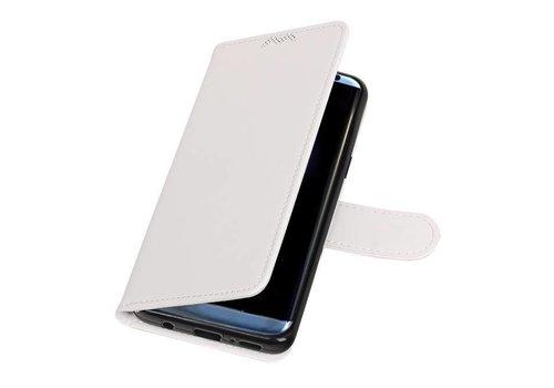 Galaxy S9 Portemonnee hoesje booktype wallet case Wit