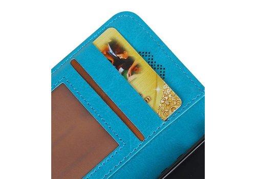 Galaxy S8 Portemonnee hoesje booktype wallet case Turquoise