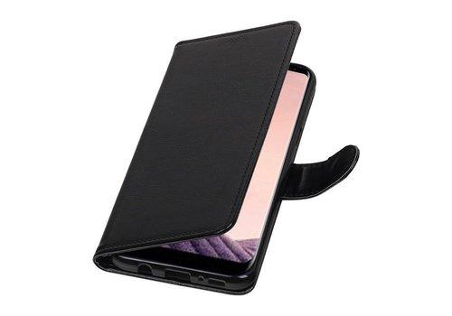 Galaxy S8 Plus Portemonnee hoesje booktype wallet case Zwart