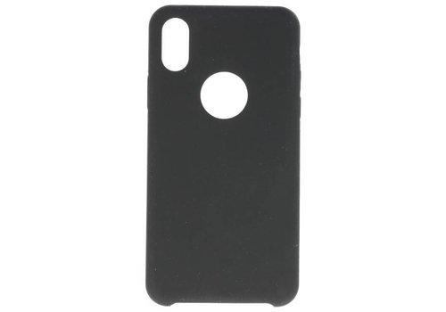 Premium TPU Hoesje voor iPhone X Zwart