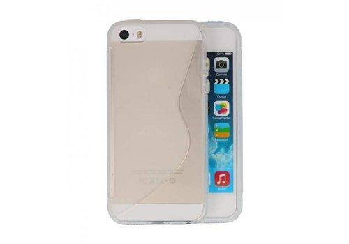S-Line TPU Hoesje voor iPhone 5 Wit