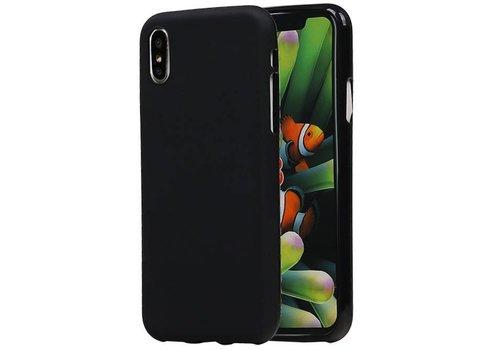 TPU Hoesje voor iPhone X Zwart