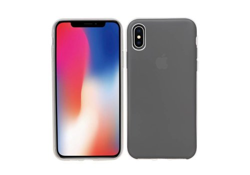 Transparant TPU Hoesje voor iPhone X