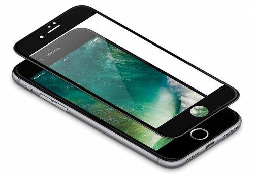 3D Tempered Glass voor iPhone 8 Plus Zwart