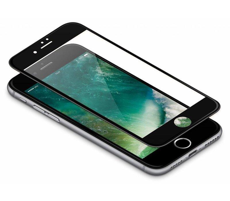 3D Tempered Glass voor iPhone 8 Zwart