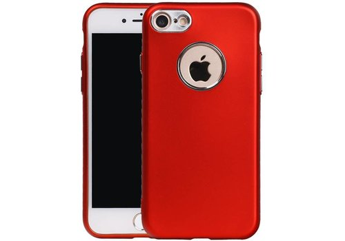 Design TPU Hoesje voor iPhone 7 Rood