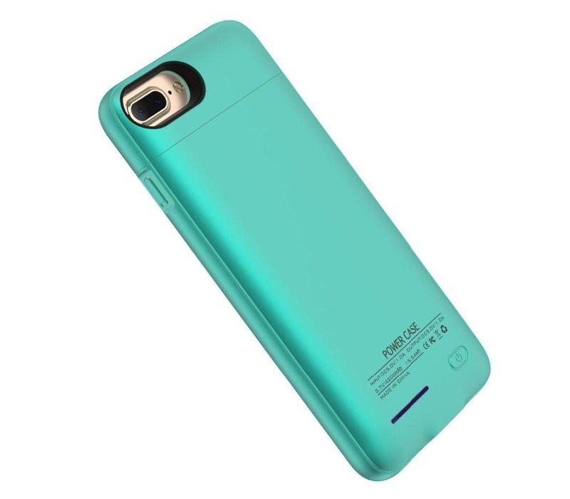 Battery Power Case voor iPhone 6 Plus / 6s Plus / 7 Plus 4200 mAh Blauw