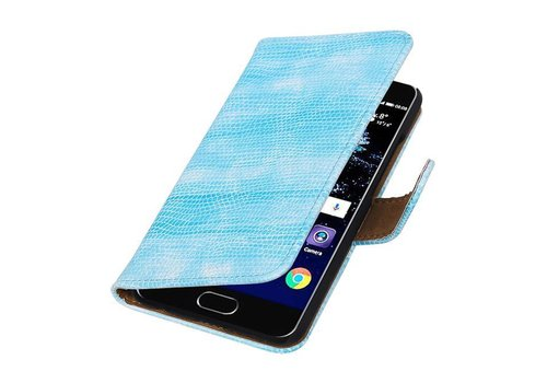 Lizard Bookstyle Hoes voor Huawei P10 Turquoise