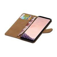 Bookstyle Hoesje voor Galaxy S8 Plus Zwart