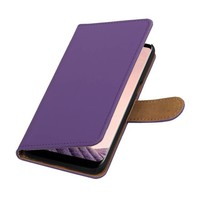 Bookstyle Hoesje voor Galaxy S8 Paars