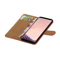 Bookstyle Hoesje voor Galaxy S8 Rood