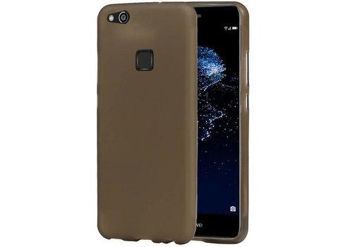 TPU Hoesje voor Huawei P10 Lite Grijs