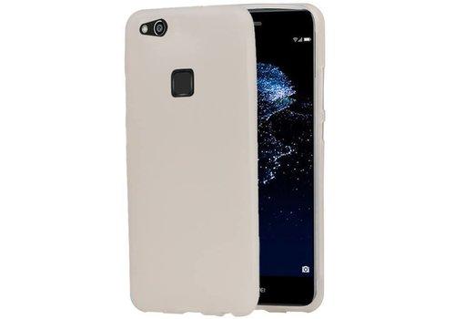 TPU Hoesje voor Huawei P10 Lite Wit
