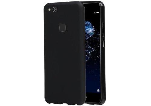TPU Hoesje voor Huawei P10 Lite Zwart