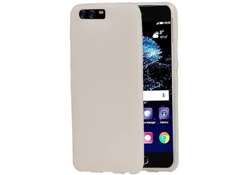 TPU Hoesje voor Huawei P10 Plus Wit