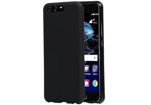 TPU Hoesje voor Huawei P10 Plus Zwart