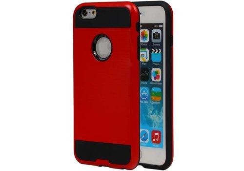 Tough Armor TPU Hoesje voor iPhone 6 Plus Rood