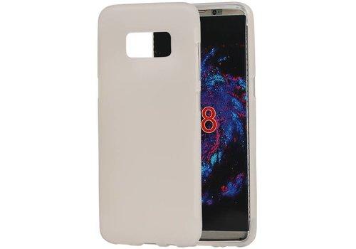 TPU Hoesje voor Galaxy S8 Wit