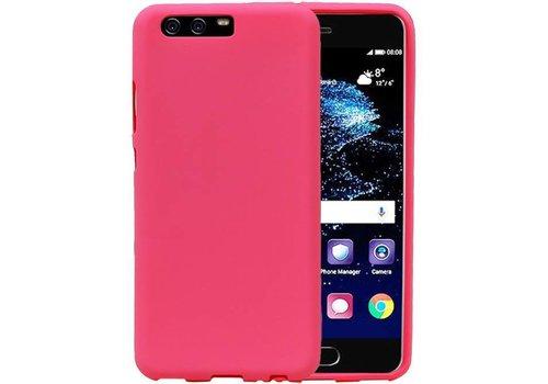 Sand Look TPU Hoesje voor Huawei P10 Roze