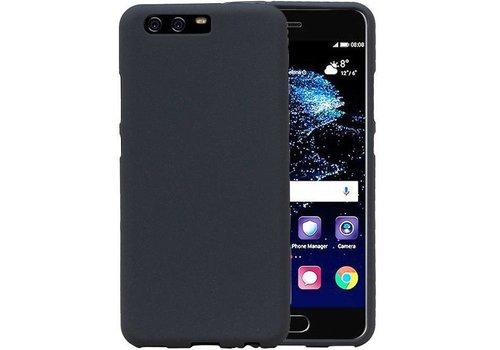 Sand Look TPU Hoesje voor Huawei P10 Grijs