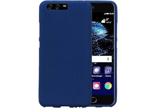 Sand Look TPU Hoesje voor Huawei P10 Blauw