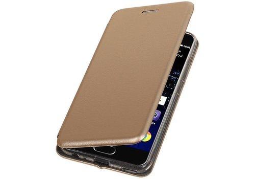 Slim Folio Case voor Huawei P10 Goud