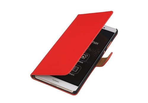 Bookstyle Hoes voor Huawei P10 Plus Rood