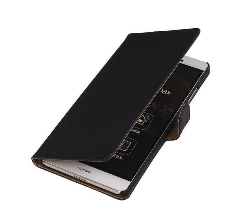 Bookstyle Hoes voor Huawei P10 Plus Zwart