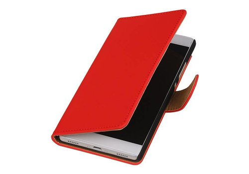 Bookstyle Hoes voor Huawei P10 Rood