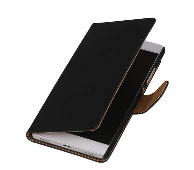 Bookstyle Hoes voor Huawei P10 Zwart