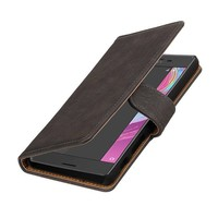 Bark Bookstyle Hoes voor Sony Xperia X Performance Grijs