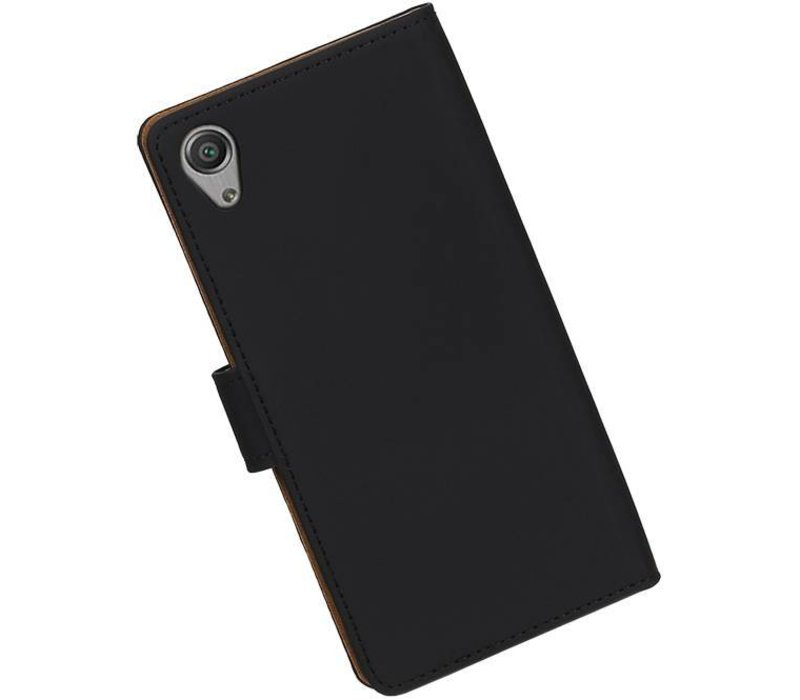 Bookstyle Hoes voor Sony Xperia X Performance Zwart