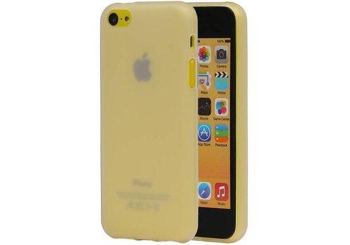 TPU Hoesje voor iPhone 5 SE Wit