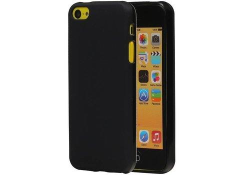 TPU Hoesje voor iPhone 5 SE Zwart