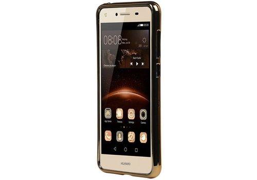 M-Cases Leder Look TPU Hoesje voor Huawei Y5 II Wit