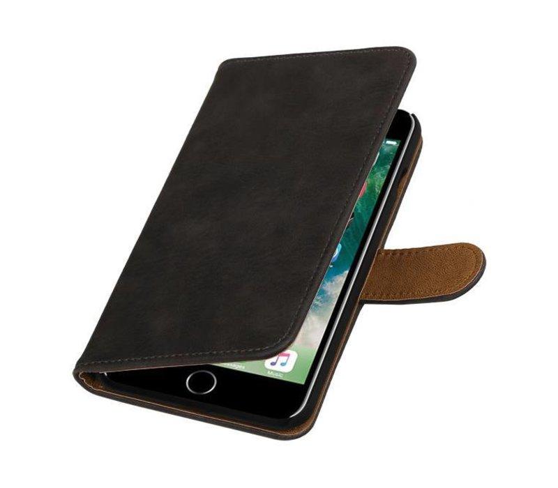 Bark Bookstyle Hoes voor iPhone 7 Plus Grijs
