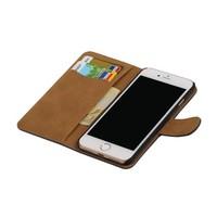 Bark Bookstyle Hoes voor iPhone 7 Grijs