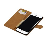 Bookstyle Hoes voor iPhone 7 Plus Wit