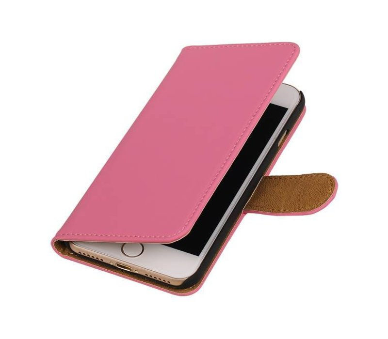Bookstyle Hoes voor iPhone 7 Roze