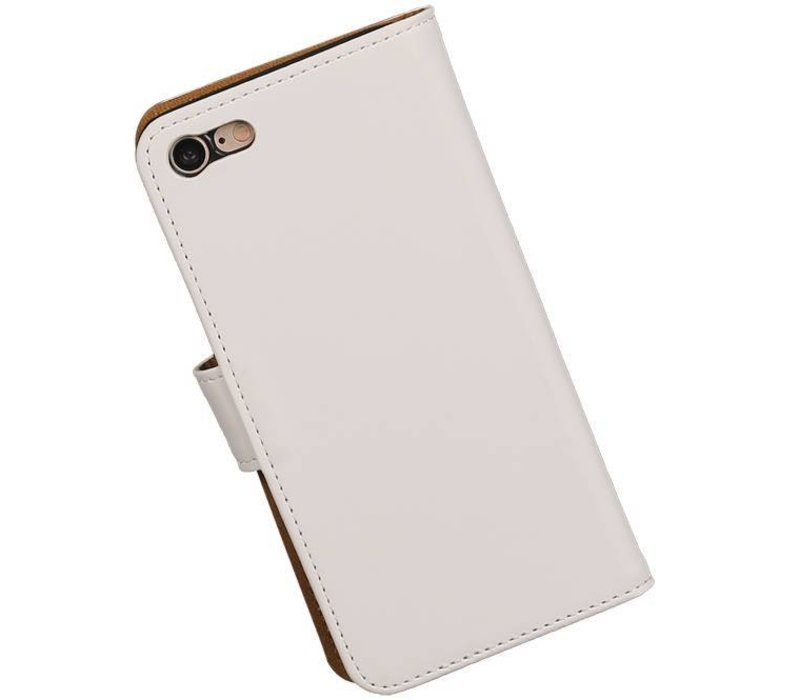 Bookstyle Hoes voor iPhone 7 Wit