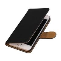 Bookstyle Hoes voor iPhone 7 Zwart
