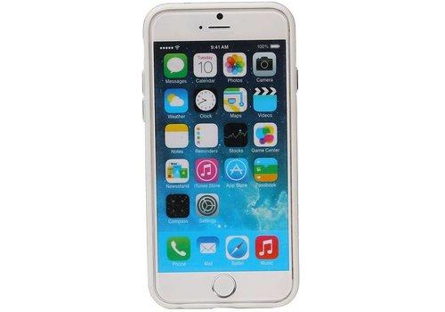 QY Ring Houder Aluminium Cover voor iPhone 6 Plus Goud