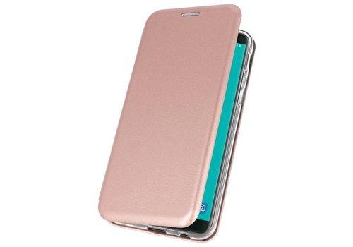 Slim Folio Case voor Galaxy J6 2018 Roze